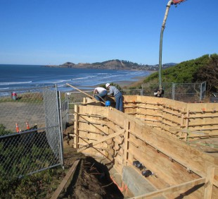 Shoreline Ridge Stem Walls